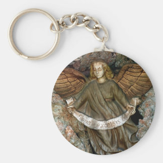 Angel in the Grotto Keychain