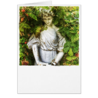 Angel in the Loganberries Blank Card