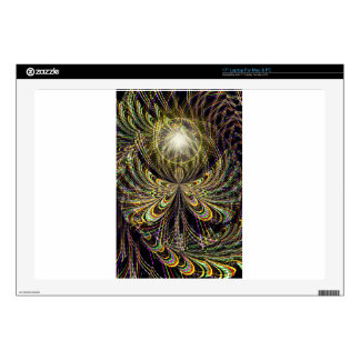 """Angel In The Midst.jpg 17"""" Laptop Decal"""