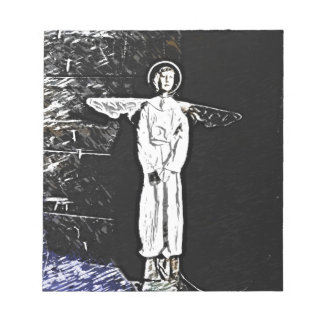 Angel In The Shadow Memo Note Pad