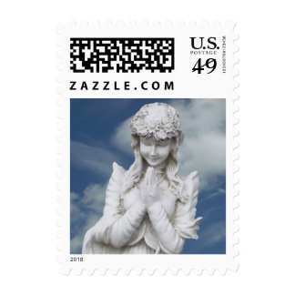 Angel in the sky Postage Stamps