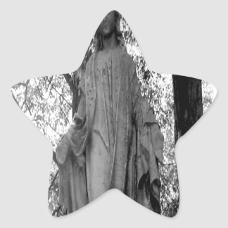 Angel in the Trees Star Sticker