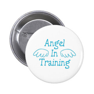 Angel in Training Pinback Button