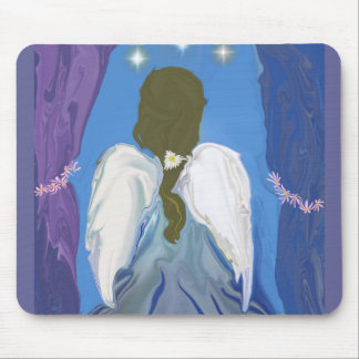 Angel In Waiting Mousepad