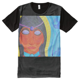 Angel in Watercolor All-Over Print T-shirt