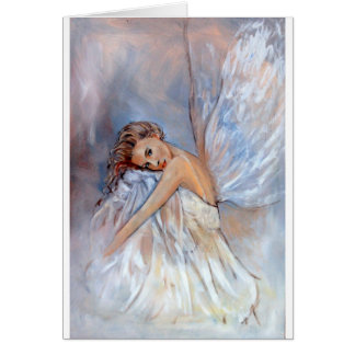 Angel in White Card