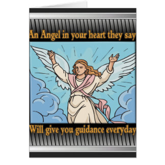 ANGEL IN YOUR HEART CARD