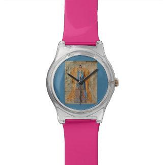 Ángel indio relojes de pulsera