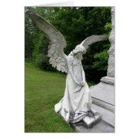 Angel inspirational greeting card