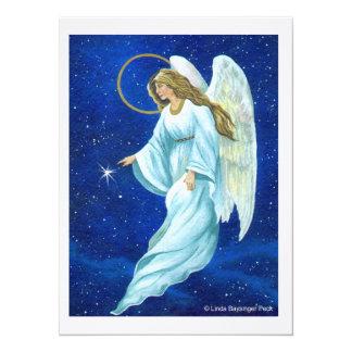Ángel Invitación 13,9 X 19,0 Cm