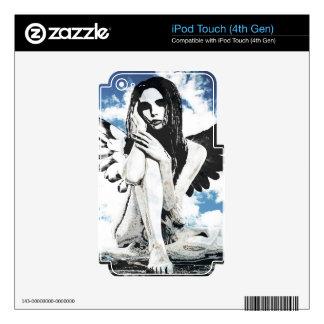 Ángel iPod Touch 4G Skins