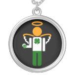 ángel irlandés de la cerveza joyeria personalizada