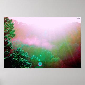 "Angel Island Poster - X-Large (38"" x 25.4"")"