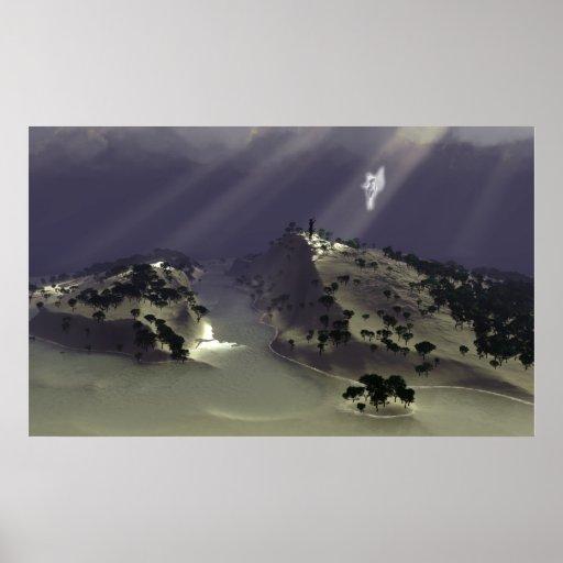 Angel Island. Print