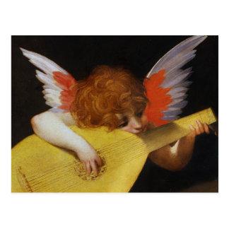 Ángel italiano del renacimiento tarjeta postal