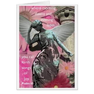 Angel, Joy Greeting Card