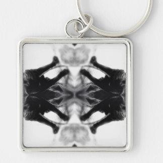 Angel Kaleidoscope 14 Keychain