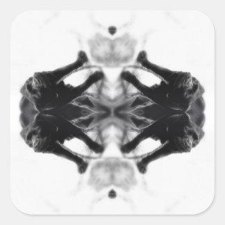 Angel Kaleidoscope 14 Sticker