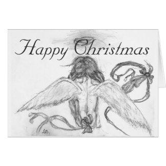 angel Kayla, Happy Christmas Card