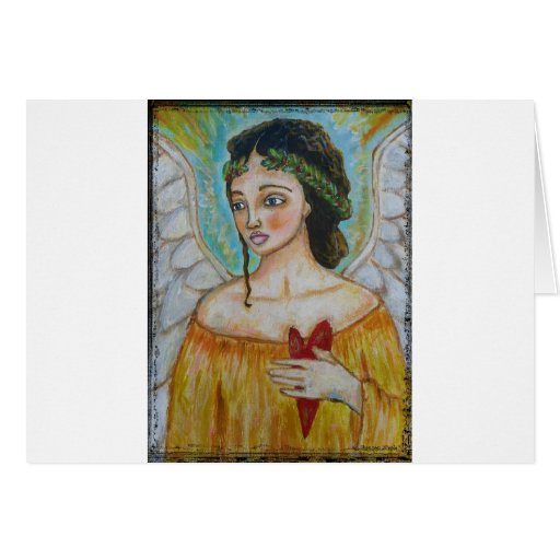 Angel - Keeping you close to my heart Card