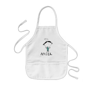 ANGEL KIDS' APRON