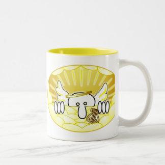Angel Kilroy Two-Tone Coffee Mug