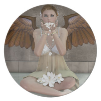 Angel Kisses coming your way Plate