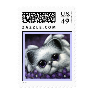 Angel Kitten Cat  Postage