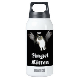 Angel Kitten - cute cat Insulated Water Bottle