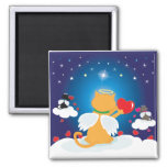 Angel Kitties - With Love from Heaven Magnet