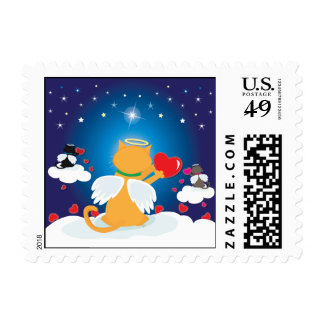 Angel Kitties ~ With Love from Heaven Postage