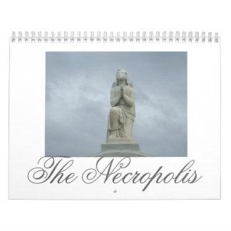 ángel, la necrópolis calendario de pared