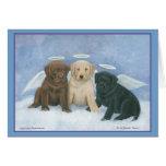 Angel Labbies Christmas Card