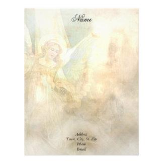 Angel Letterhead