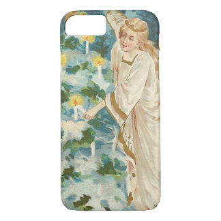 Angel Lighting Candlelit Christmas Tree iPhone 7 Case