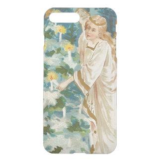 Angel Lighting Candlelit Christmas Tree iPhone 7 Plus Case
