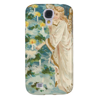 Angel Lighting Candlelit Christmas Tree Samsung Galaxy S4 Case