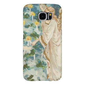 Angel Lighting Candlelit Christmas Tree Samsung Galaxy S6 Case