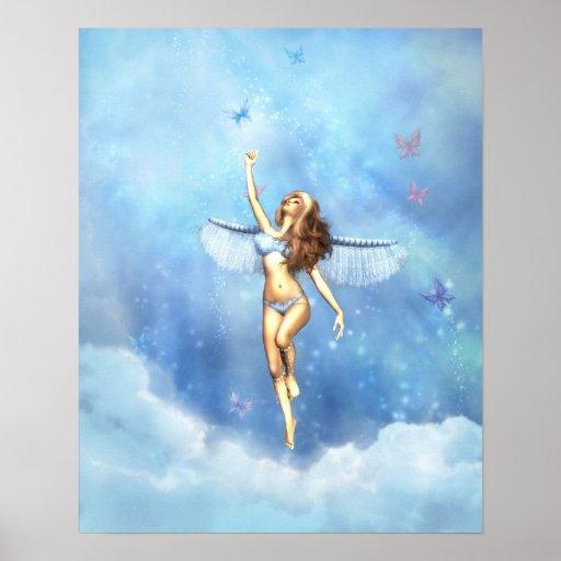 Ángel llovido del cielo posters
