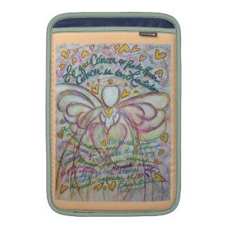 Angel Lo que Cáncer no Puede Hacer iPad Sleeve