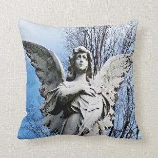 Angel Looking Skyward Pillows