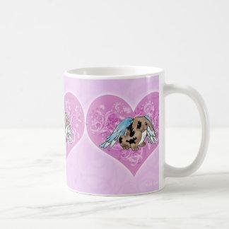 Angel Lop Bunny In Heart Mug