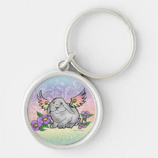 Angel Lop Bunny Keychain