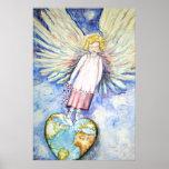 ANGEL LOVE FOR THE WORLD POSTER ART