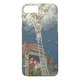 Angel Manger Nativity Jesus Christian iPhone 8/7 Case