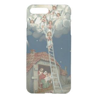 Angel Manger Nativity Jesus Christian iPhone 8 Plus/7 Plus Case