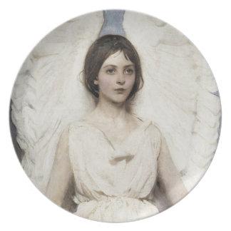 Angel Melamine Plate