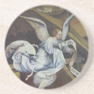 Angel message coaster