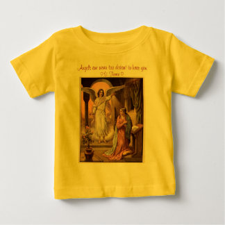 angel message infant shirt