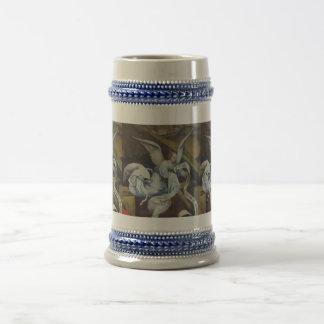 Angel message stein coffee mugs